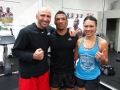 MMA fighters Kevin Lee & Raquel Pa'aluhi